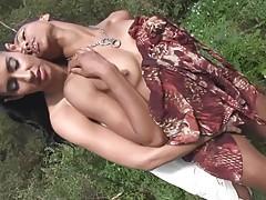 Lesbian Hotties Outdoor Sex