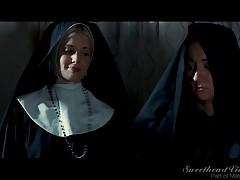 While troubled by her sinful thoughts for beautiful new arrival, Lily (Lily Adams), Sister Charlotte is tasked to find missing nuns, Sister Penny (Penny Pax) and Sister Darcie (Darcie Dolce). When she stumbles upon the two sisters giving into the temptati