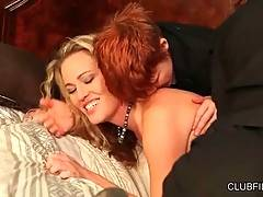Mature Blonde Is Done By Skilful Lesbians 2