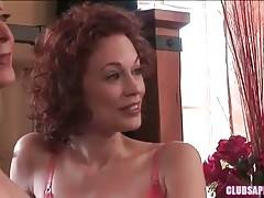 Nina Is Attracted To This Redhead Hottie Justine 2